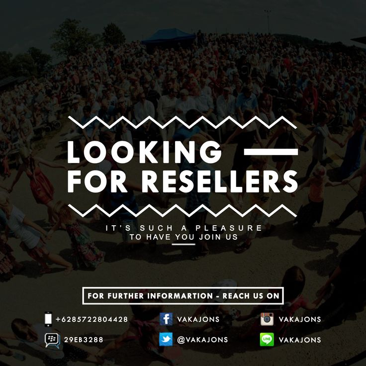 Hey jons! We're looking for reseller, get the best price if you join with us. For info // Ph : 085722804428/29EB3288