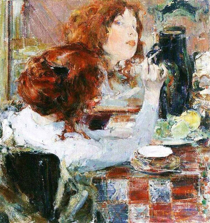Николай Фешинニコライ・フェーシン(1881ー1955)「Золотые волосы(金髪)」(1914)