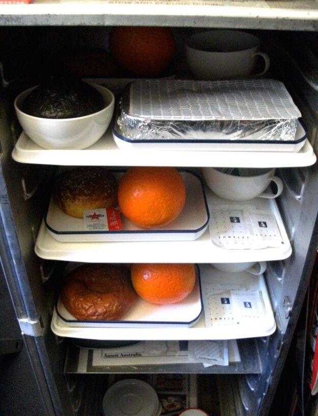 Ansett Inflight Meal Cart