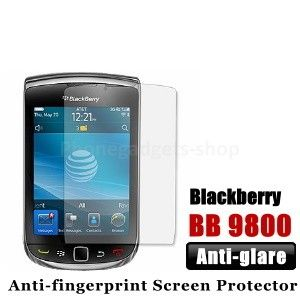 Professional Anti fingerprint / Anti glare Blackberry 9800 Screen Protector