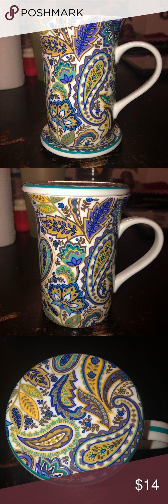 Starbucks coffee mug with lid/coaster Starbucks coffee