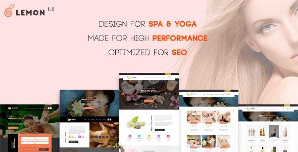 Lemon   Spa & Beauty Responsive Multi-Purpose WordPress Theme - Health & Beauty Retail