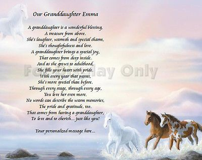 poems to granddaughter from grandma | Details about ...