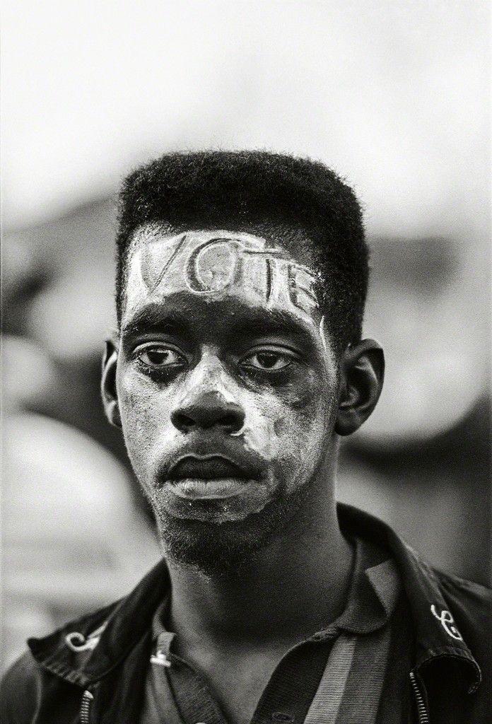 "Steve Schapiro, ""Vote"", Selma March, 1965, Fahey/Klein Gallery"