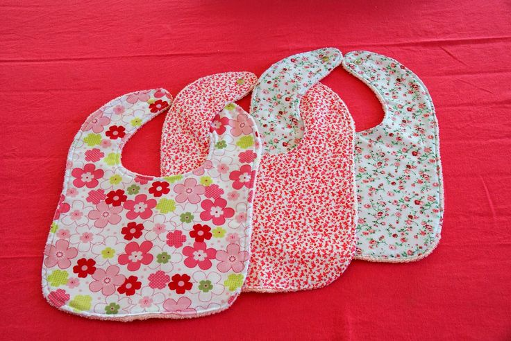 Baby Girl Bibs  -Nouli's Place-