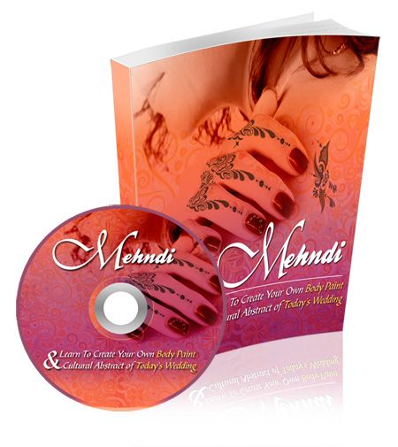 Mehndi (Henna) - Learn To Create Your Own Body Paint & Cultural Abstract of Today's Wedding