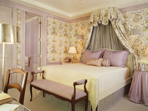 Best girls room ever maryanna finney house rooms pinterest lilacs chinoiserie and bed - Modern purple bedroom colors ...