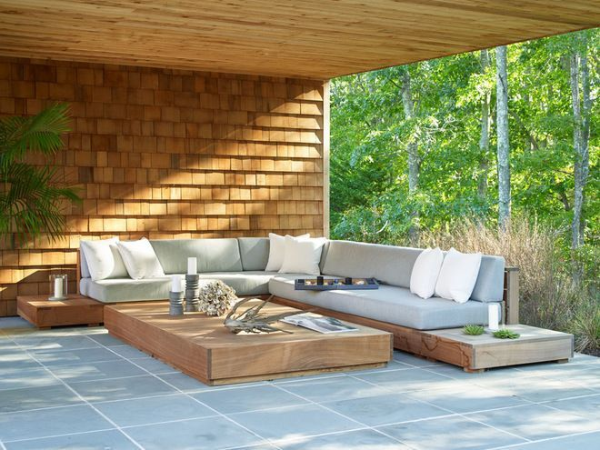 Beach Style Patio By Living Wood Design In 2019 Au 223 En