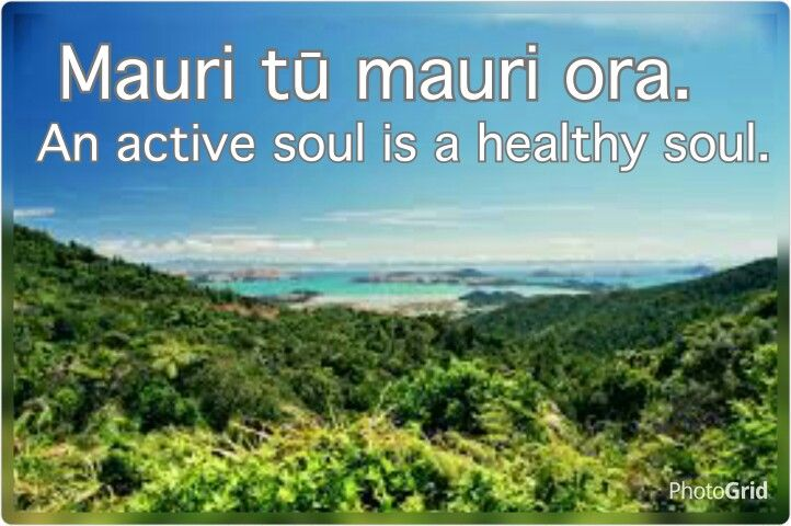 Maori Proverb: An active soul is a healthy soul.