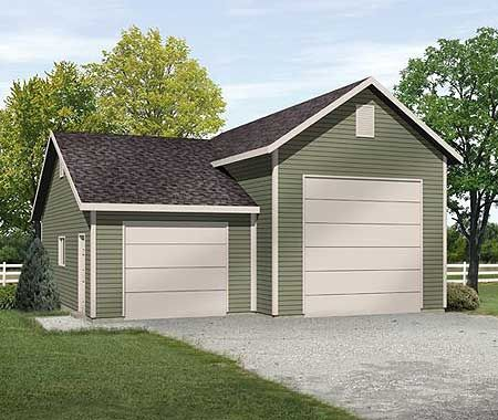 Garage plans with rv storage woodworking projects plans for Garage plans with storage
