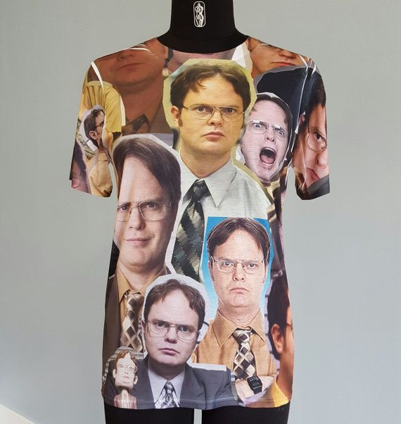 For the biggest Dwight Schrute and The Office fans out there! All over printed t-shirt on a top-quality 100% polyester t-shirt printed on both sides.
