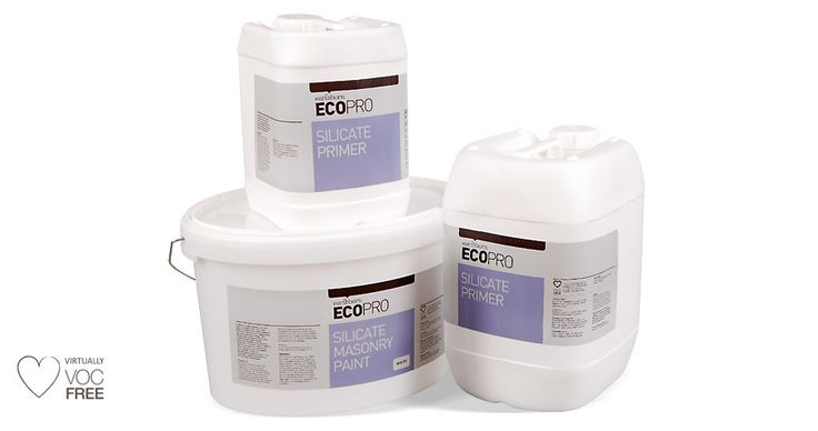 Our Ecopro Silicate Masonry Paint is probably the most durable paint available for exterior masonry. Highly breathable & eco-friendly. Click to find out more.
