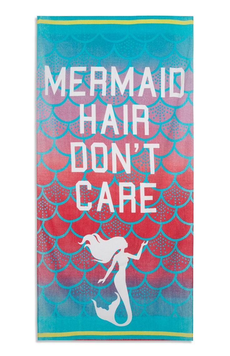 """Primark - """"Mermaid Hair"""" Strandtuch"""