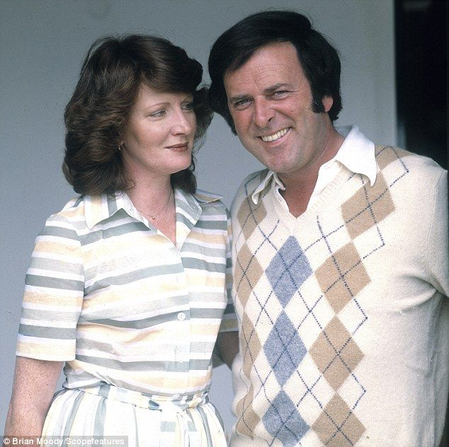Devoted: Sir Terry with his wife of 50 years, former model Helen Shepherd, in 1989