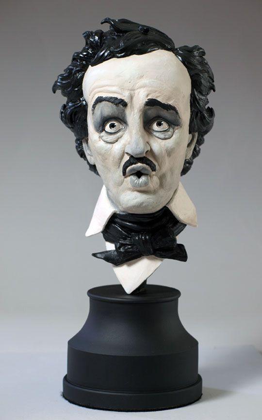 Edgar Allan Poe Bust Kit