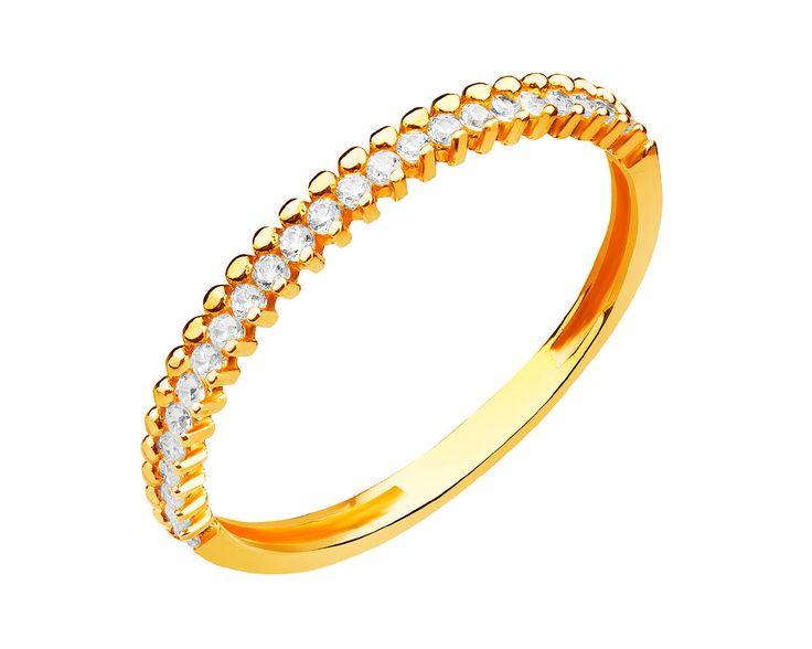 Złoty pierścionek | Apart