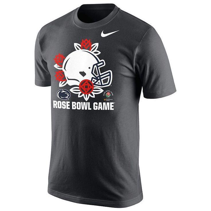 Men's Nike Penn State Nittany Lions 2016 Rose Bowl Game Tee, Grey