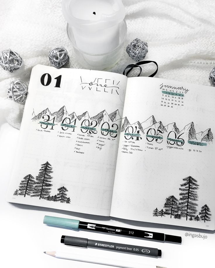 Learn how to draw mountains and pine trees with my step-by-step tutorial. Mounta…