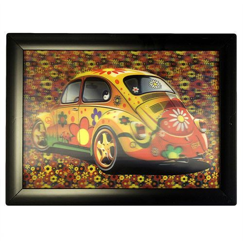 Iconic 3D 25x35cm - Flower Power Beetle