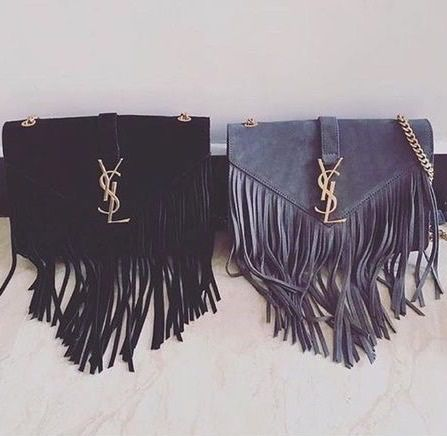 fringe suede shoulder bag #YSL | accessorize | Pinterest | Fringes ...