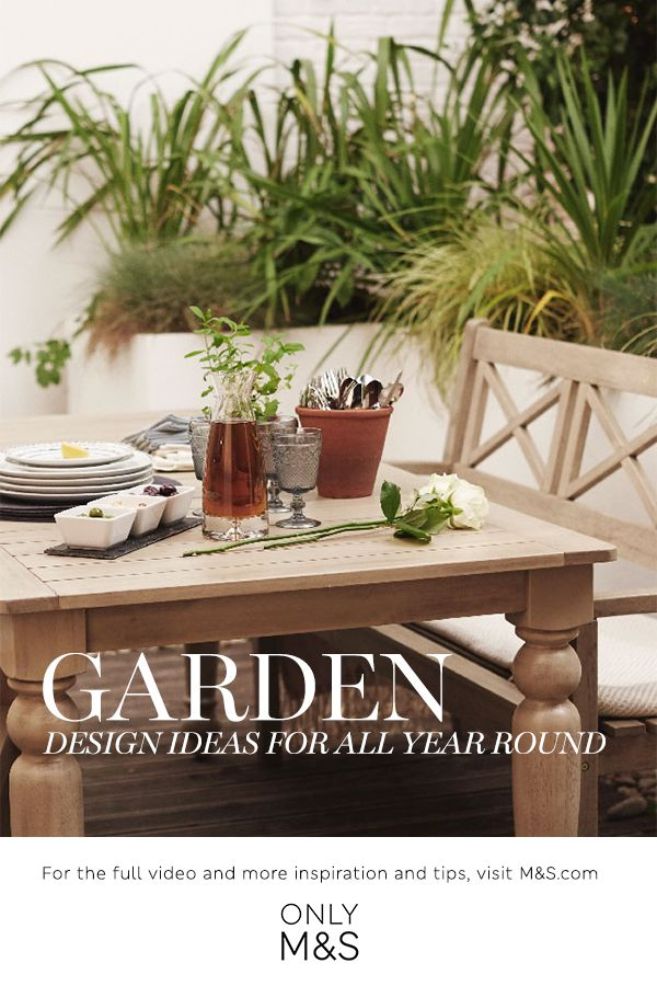Get inspired with our garden design ideas for all year round guide  For  more of these and some great video tutorials and guides  visit the M S com   Home. 42 best Outdoor Entertaining images on Pinterest   Outdoor
