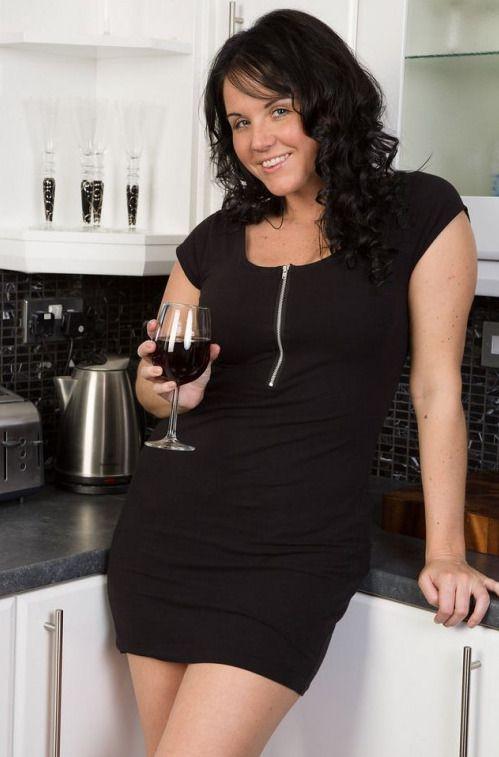 mature woman cocktail dress