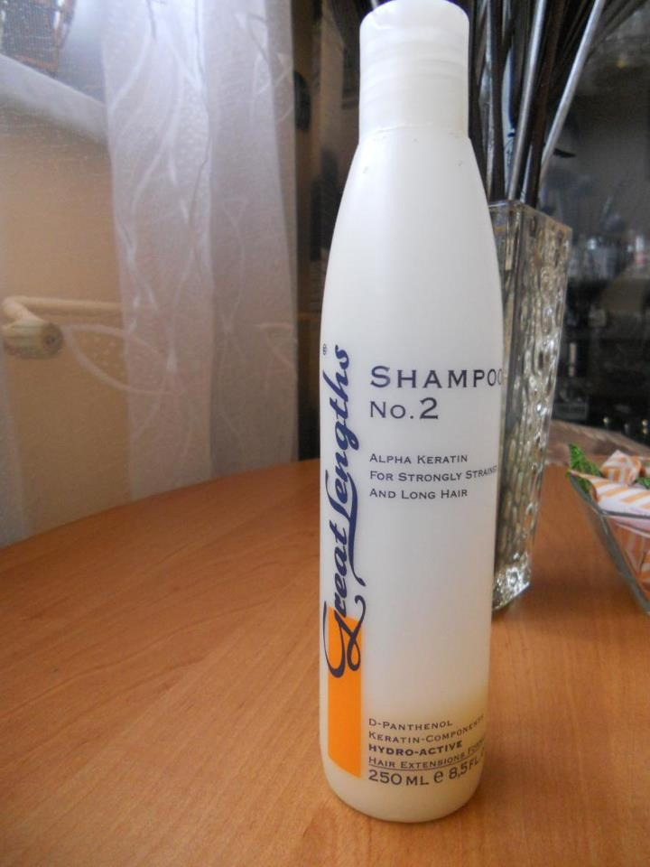 Shampoo nr 2 Great Lengths Hair hairstyle (Find us on: www.facebook.com/GreatLengthsPoland)