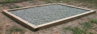 building a greenhouse foundation. simple 'nough