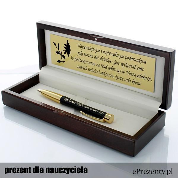 Długopis Parker Urban Muted GT w drewnianym etui  to gwarancja jakości dla polonisty na wiele lat! http://bit.ly/1WMy1jH