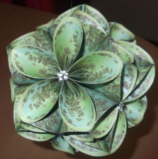 Kusudama Origami Kugel
