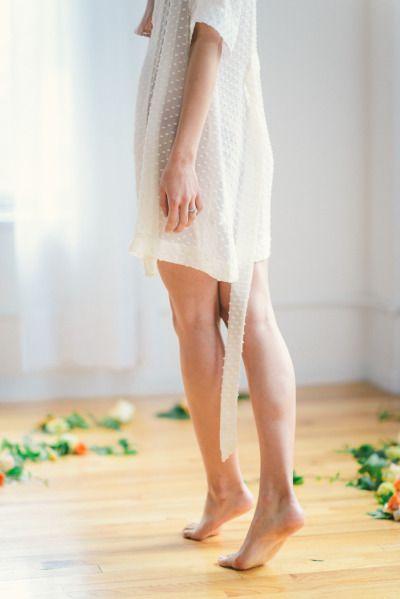 Bridal robe: http://www.stylemepretty.com/new-york-weddings/new-york-city/2014/12/09/botanical-bridal-portrait-boudoir/ | Photography: Kate Ignatowski - http://www.kateignatowski.com/