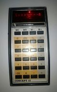 Vintage Texas Instrument Calculator