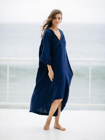 9seed - Tangier Caftan - Pacific