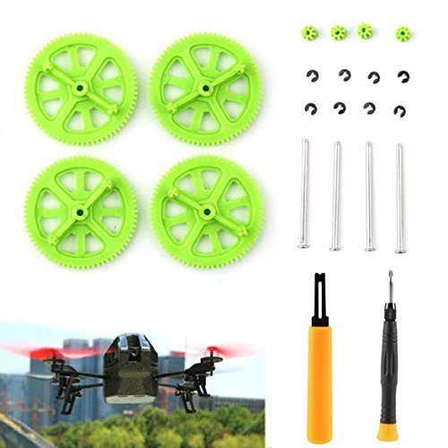 Susenstone®Green Pinion Shaft Mounting Tools & Gears Kit For Parrot AR Drone 2.0 - http://www.midronepro.com/producto/susenstonegreen-pinion-shaft-mounting-tools-gears-kit-for-parrot-ar-drone-2-0/