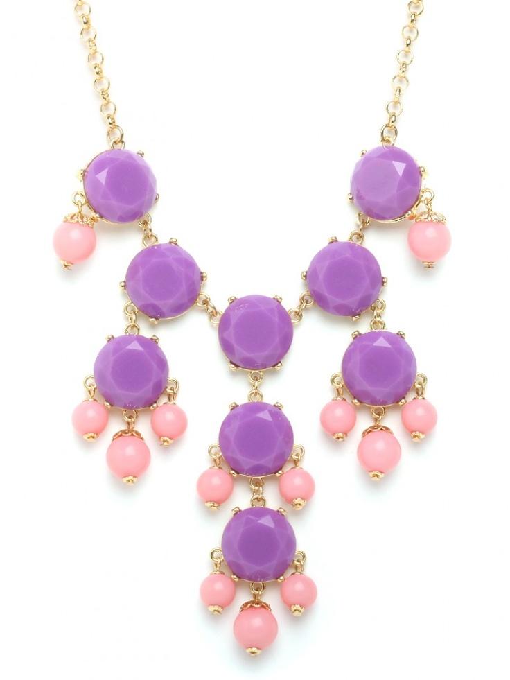bubble necklace / baublebar: Statement Necklaces, Royals, Color, Baublebar Royal, Bibs, Bubble Necklaces, Bib 38