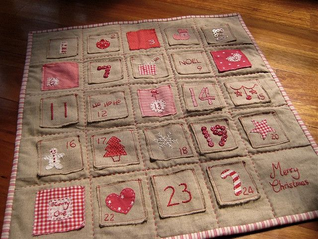 Advent Calendar via lululollylegs in countdown calendars