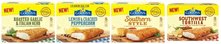 Checking Out New Gorton's Artisan Fish Fillets {Review} #RealSolutions (& Giveaway Ends 4/7) Read more at http://momandmore.com/2014/03/gortons-artisan-fish-fillets.html#YBeCVrhxrYSB5SEB.99