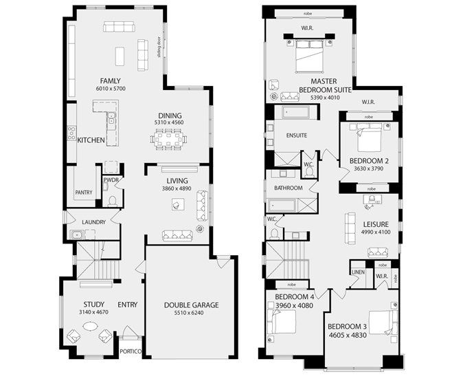 New Home Floor Plans Interactive House Metricon Homes