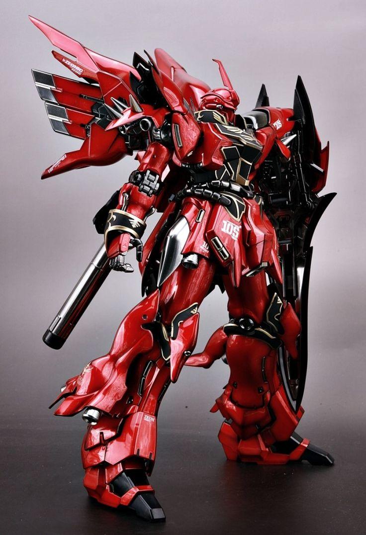 MG 1/100 Sinanju Stein Ver.Ka VS Sinanju | Alvin Gundam ...