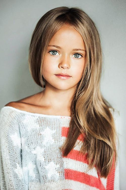 Kristina Pimenova Russian Child Model... She's like a little doll, so pretty