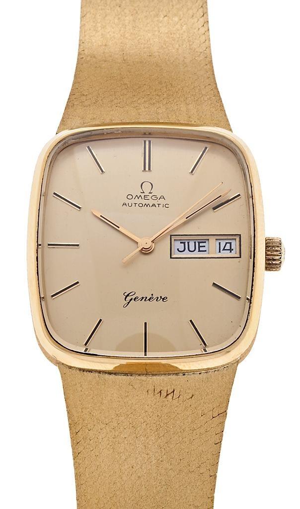 """Omega, """"Automatic"""", reloj de pulsera de caballero en oro   Balclis Barcelona"""