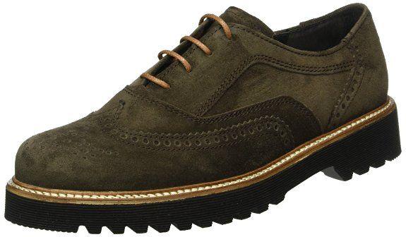 Gabor Shoes 52.665 Damen Derby Schnürhalbschuhe, Blau (ocean (S.S/C) 36), 35.5 EU (3 Damen UK): Amazon.de: Schuhe & Handtaschen