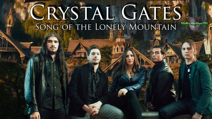 Crystal Gates - Song of the Lonely Mountain - The Hobbit OST Metal Version
