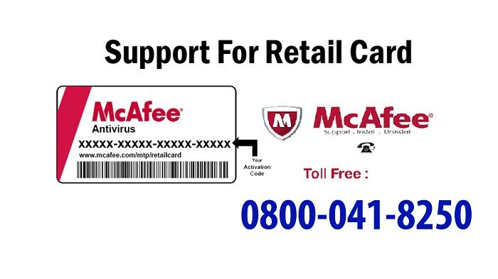 Most Common Issues With Mcafee Livesafe Retail Card Online