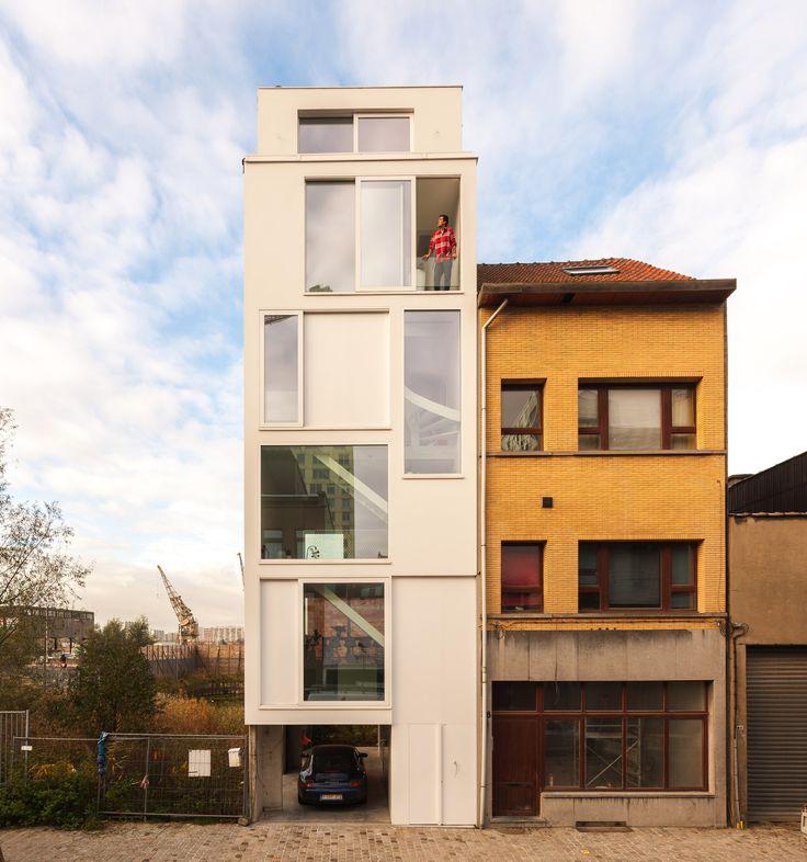 Arquitectos: P8 architecten Ubicación: Antwerp, Bélgica