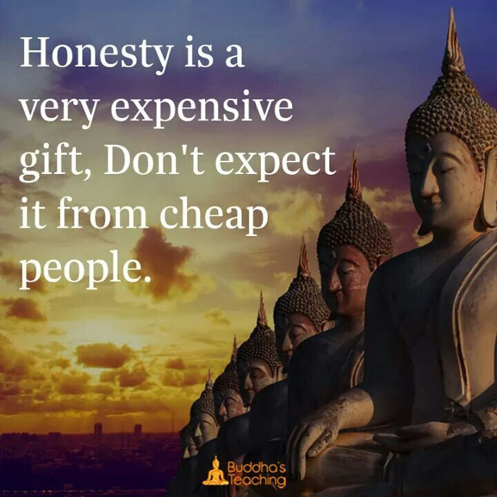 Honesty | Buddha quote, Bhuddist quotes, Buddhist quotes