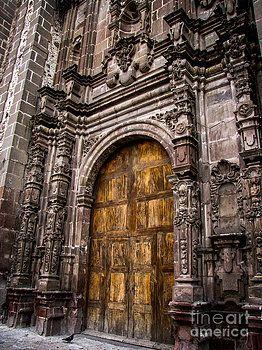 Old Church Door by Charlene Gauld