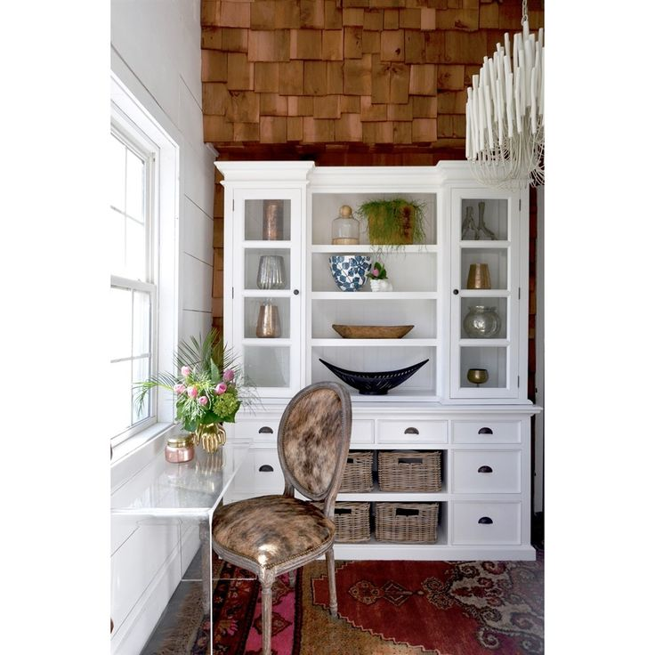 Shop Nova Solo  BCA600 Halifax Library Hutch Unit with Baskets at The Mine. Browse our buffets, sideboards & hutches, all with free shipping and best price guaranteed.