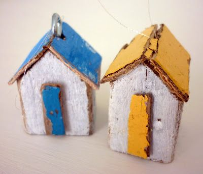 teeny beach huts | Kirsty