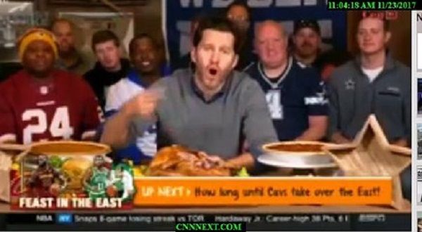 First Take full Show 11/23/17 Happy Thanksging Watch Video: http://www.cnnnext.com/video/18491/first-take-11-23-17/